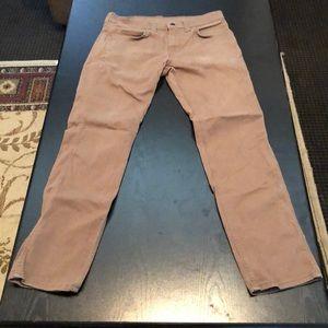 Levi's 511 brown pants